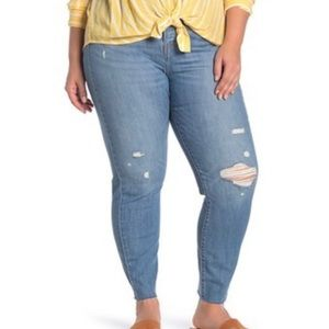 NWT Levi's Wedgie Plus Size Skinny Jeans